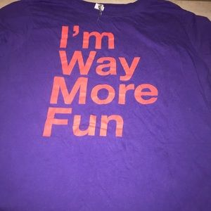 "Ransom ""I'm Way More Fun"" Short Sleeve Shirt"